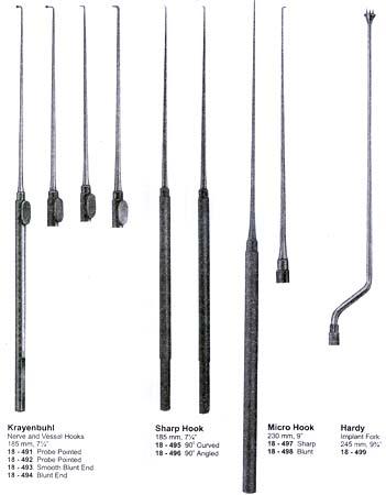 nerve hook instrument